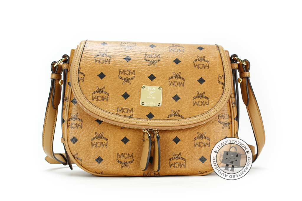 Mcm Visetos Medium Shoulder Bag 5