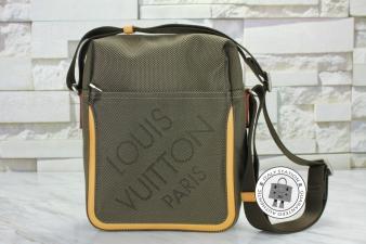 Louis Vuitton Terre Damier Geant Citadin Canvas M93040 Messenger Bag