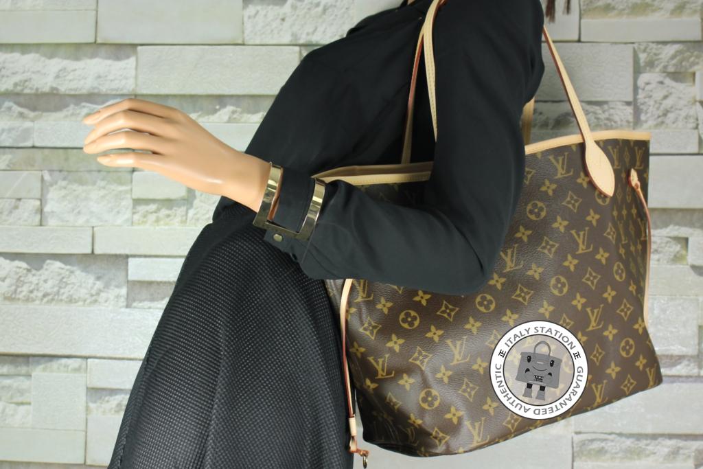 af96d48dec71 IS032817 -- Louis Vuitton Rose Ballerine MM Monogram Neverfull Canvas M50366  Tote Bag