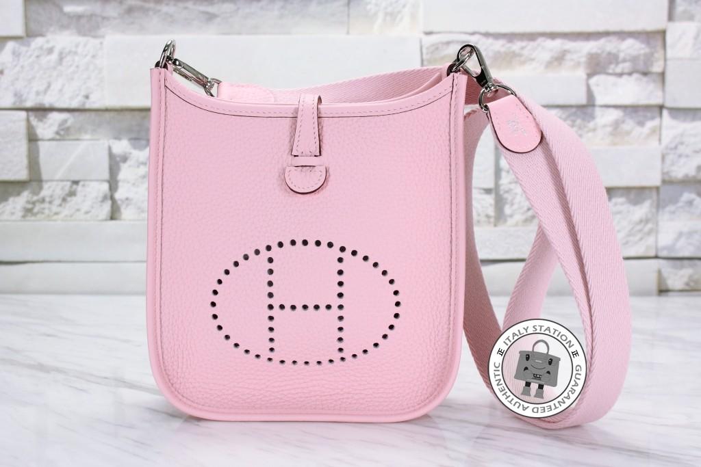 hermes birkin style bags - Hermes�CMini evelyne togo TPM Rose Sakura �C �����վ�C ItalyStation