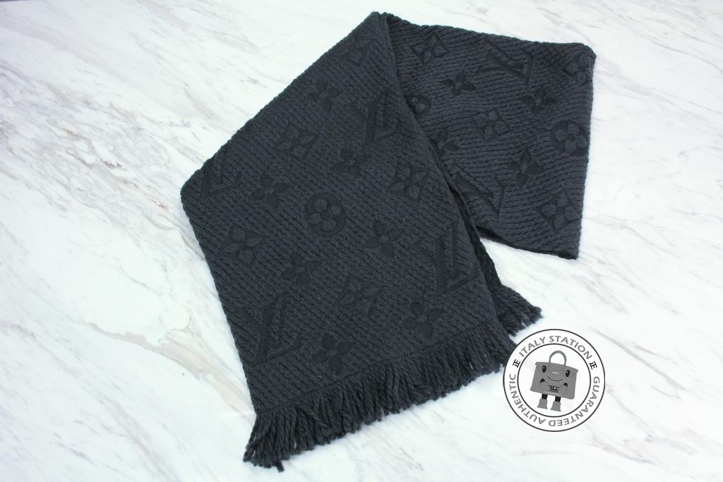 4d7a42bb6176 Louis Vuitton Wool Scarf–Black  Red – 意大利站– ItalyStation